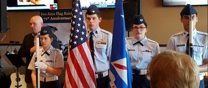 Color Guard - Dutchess County Cadet Squadron
