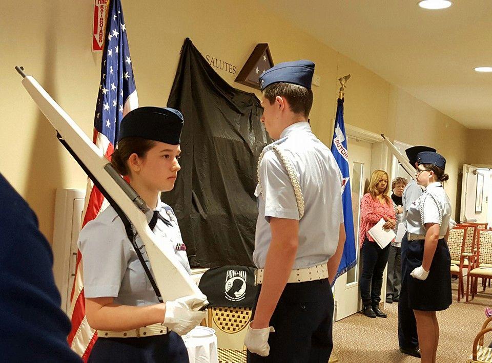 Color Guard - Dutchess County Cadet Squadron